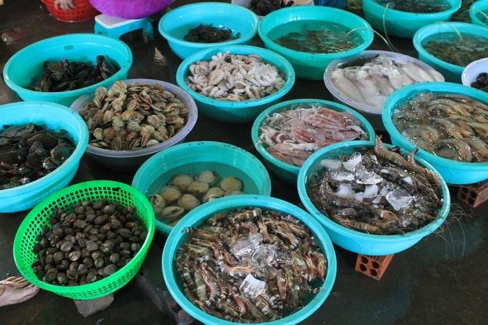 hải sản tươi sống giao hàng tận nhà