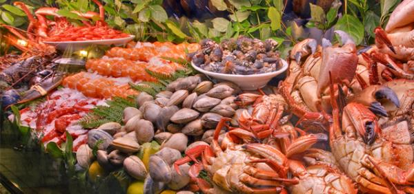 các loại hải sản