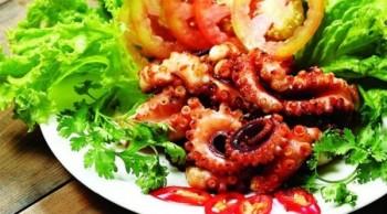 cách chế biến bạch tuộc nướng
