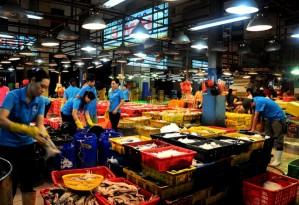 giá hải sản chợ bình điền