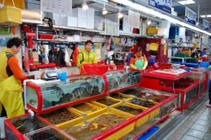 cửa hàng hải sản tươi sống