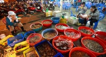 chợ hải sản tphcm