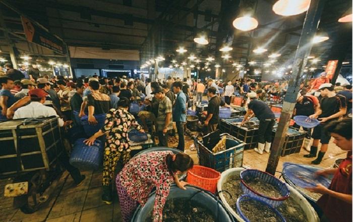 chợ đầu mối hải sản tphcm