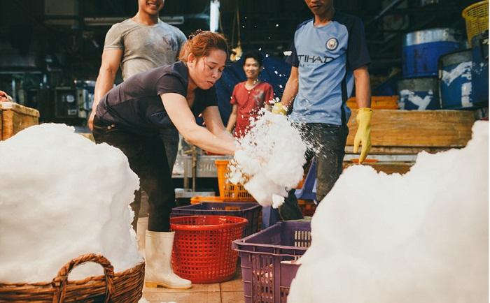 chợ hải sản bình điền tphcm