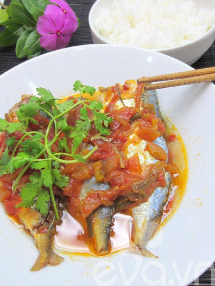 cá bạc má kho cà chua