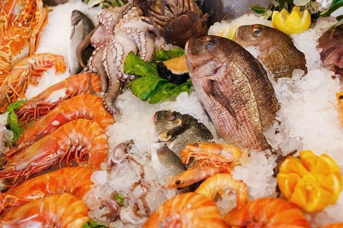 ăn hải sản có mập không