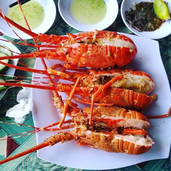ăn hải sản tươi sống
