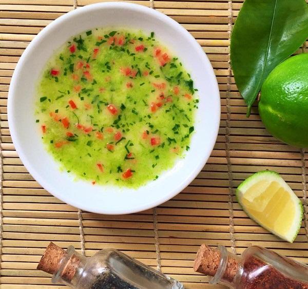 nước chấm muối ớt xanh